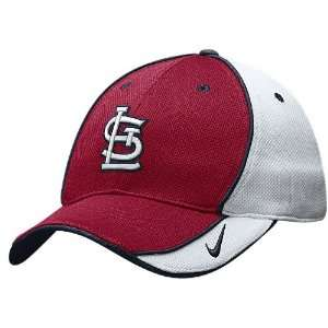 St. Louis Cardinals MLB Mesh 2009 Practice Adjustable Baseball Cap By