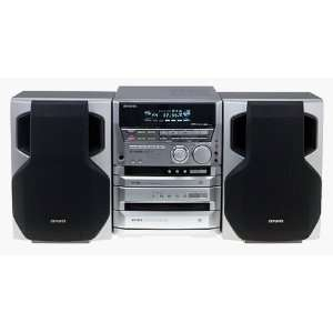 Aiwa XR H66MD Compact Stereo System Electronics