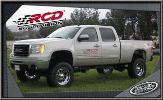 07 08 Chevy/GMC 2500HD Pickup 4x4 6 RCD Lift Kit
