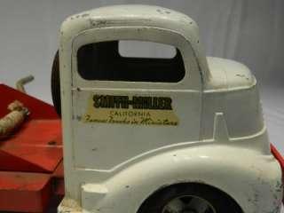 SMITTY TOYS TOW TRUCK WRECKER SMITH MILLER TOYS CALIFORNIA |