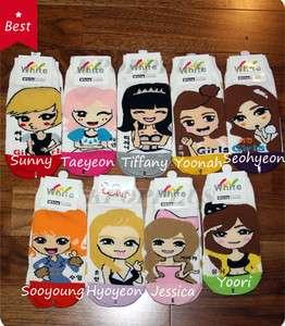 Girls Generation (SNSD)   1 Pairs Of Women Socks [ u Can Select