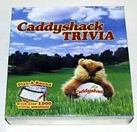 CADDYSHACK TRIVIA board card movie GAME new