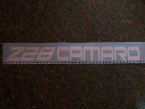 Z28 CAMARO WINDSHIELD BANNER STICKER DECAL WINDOW