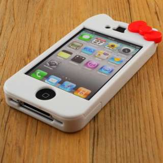 Hello Kitty Cute Lovely hard Case Cover Character for Apple iPhone 4S