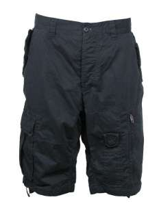 Mens French Connection/FCUK Black Cargo Short