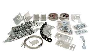 Garage Door Rebuild Kit   Replace all worn out hardware