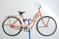 Firestone Speed Chief Ladies middleweight bicycle bike peach w/ tank