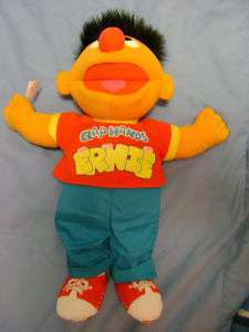 SESAME STREET New 17 ERNIE Sing Clap Your Hands DOLL