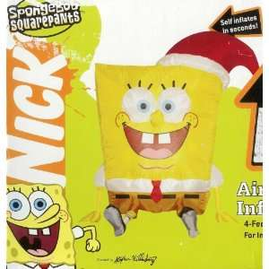 Nickelodeon Spongebob Squarepants 4 Ft Tall Christmas