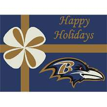 Company Baltimore Ravens 3 Ft. 10 In. x 5 Ft. 4 In. Rug