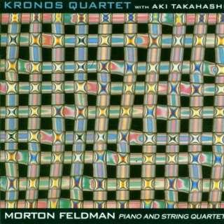 Morton Feldman Piano and String Quartet / Aki Takahashi