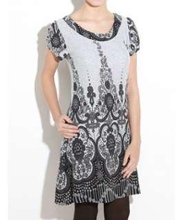 Light Grey (Grey) Apricot Floral Print Dress  242381008  New Look