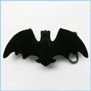 New Western Flying Bat Enameled Belt Buckle 3D 012BK Everything Else