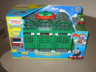Thomas & Friends Take n Play Knapford Station Percy Set