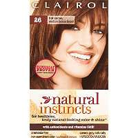 Hair Color Clairol Clairol Natural Instincts 26 Hot Cocoa (Medium