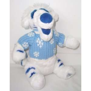 Exclusive White Sweater TIGGER Plush Based on