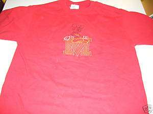 Mickey Mouse Walt Disney T Shirt Large L Sewn Mickey Co