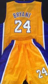 Singlet & Short Boys Lakers Kobe Bryant Jersey 8 New