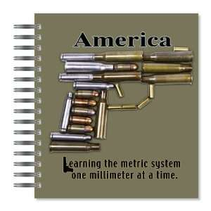 Metric System Picture Photo Album, 18 Pages, Holds 72 Photos