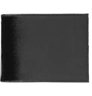 Maison Martin Margiela Large Suede and Patent Billfold Wallet  MR