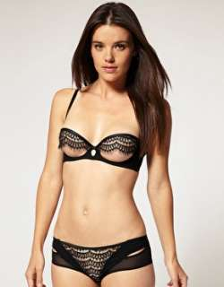 Lascivious  Lascivious Josefine Open Cup Bra at ASOS