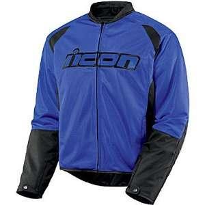 Hooligan 2 Mens Textile On Road Motorcycle Jacket   Blue / 2X Large