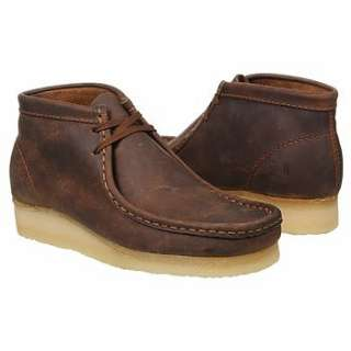 Mens Clarks Wallabee Boot Beeswax Shoes