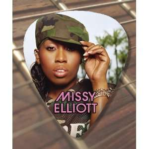 Missy Elliott (1) Premium Guitar Pick x 5 Medium Musical