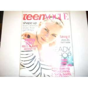 Teen Vogue Magazine  Shape up Teen Athletes  November 2006: teen vogue