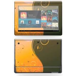Vinyl Skin Decal Cover for Sony Tablet S Butterfly Garden Electronics