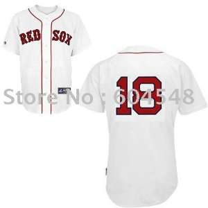 boston red sox #18 matsuzaka white baseball jerseys