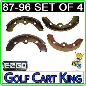 EZGO Brake Shoes (1987 1996) Marathon/TXT/Medalist Golf Cart