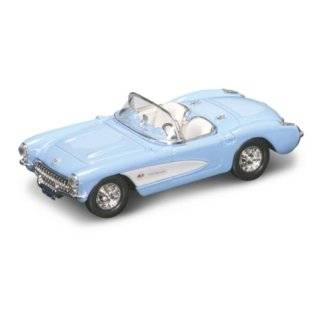 1957 Chevrolet Corvette Black 1/43 Diecast Car Model  Toys & Games