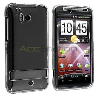For HTC Thunderbolt 4G Verizon Slim Clear Hard Case Cover Skin