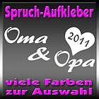 oma und opa 2011 spruch styling auto aufkleber eur 2