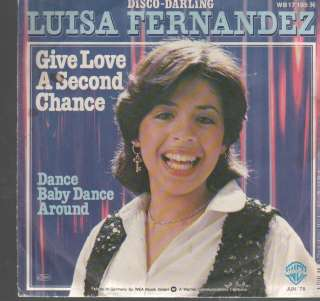 LUISA FERNANDEZ   GIVE LOVE A SECOND CHANCE
