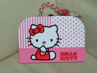 Hello Kitty Katze Hand Tasche Koffer Aufbewahrung  NEU