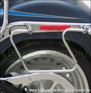neue Fahrer Sissy Bar mit Gepäckträger für Harley Fat Boy FLSTF Bj