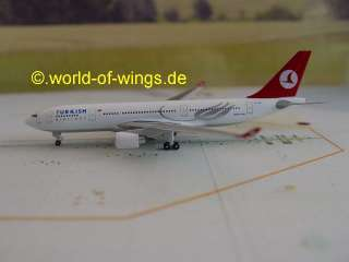 Turkish Airlines Airbus A330 200 Herpa Wings 517676 werksseitig