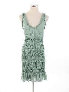 1220 PAOLA FRANI CUTE GREEN PRINCESS DRESS IT44 NWT