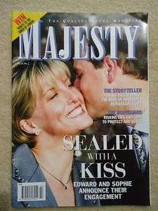 Majesty magazine VOL 20 NO 2 Royal Family Collector