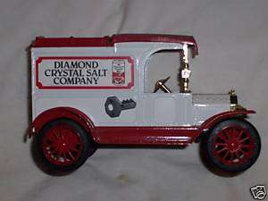 DIAMOND CRYSTAL SALT 1913 FORD DIECAST ERTL BANK