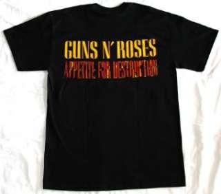 GUNS N ROSES APPETITE FOR DESTRUCTION87 AXL ROSE SLASH NEW BLACK RARE
