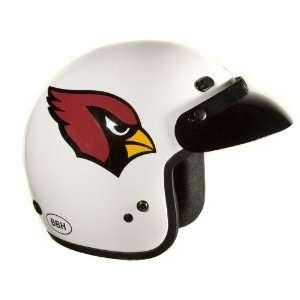 Arizona Cardinals NFL Football Motorcycle Helmet Open Face