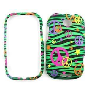 Motorola Bravo MB520 Trans. Design, Colorful Peace Signs
