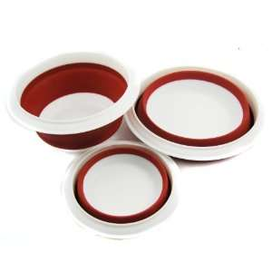 Diet Fae Silicone Pet Expandable/Collapsible Travel Bowl with Lid