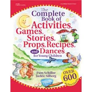 Pack GRYPHON HOUSE THE COMPLETE BOOK OF ACTIVITIES
