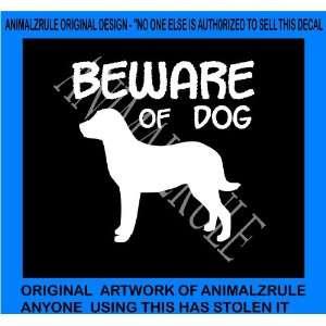 CHESAPEAKE BAY RETRIEVER DOG VINYL DECAL