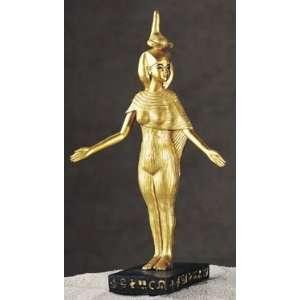 Selket Golden Egyptian Goddess King Tut Statue: Home & Kitchen