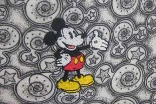 Walt Disney World Womens M Hidden Mickey Print Cotton Knit Sleep Shirt